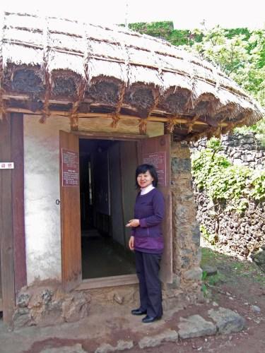Ms Jeon Eun-ja, curator of the Lee Jung-seob museum