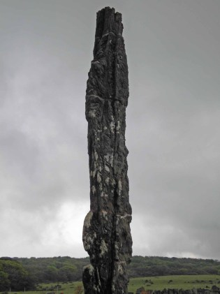 An extraordinary stone pillar in Jeju Stone Park