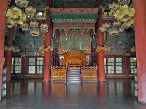 Inside the Injeongjeon