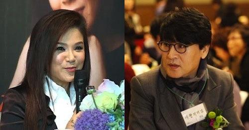 My fellow ambassadors Jang Eun-sook (장은숙) (left) and Jo Hang-jo (조항조)
