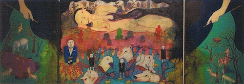 Olympia's vomiting. Mackerel Safranski (2008)