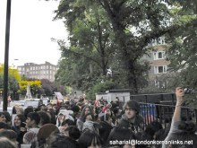 Crowds in Abbey Road 2