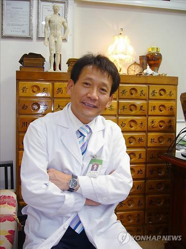 Seok-Young-hwan, a traditional Korean medicine practioner from North Korea
