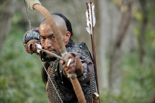 A Manchurian archer with a vicious arrow-head