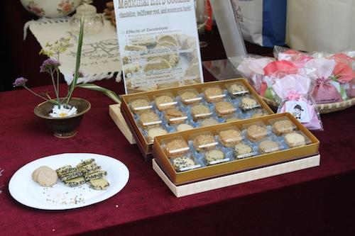Sancheong's herbal cookies
