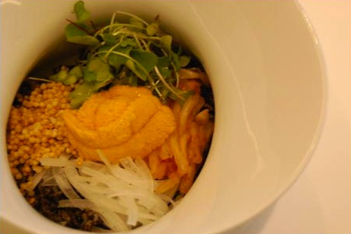 Sea Urchin Bap from Jung Sik