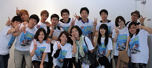 Some of the Korea Calling volunteers