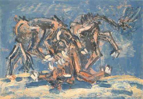 Lee Jung Seob: Fighting Bulls (1955)