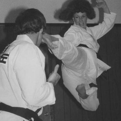 Renee Sereff, America's first female Taekwondo Grand Master