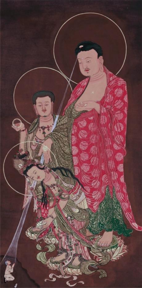 Seoyoung Park Amitabha Triad (2011)
