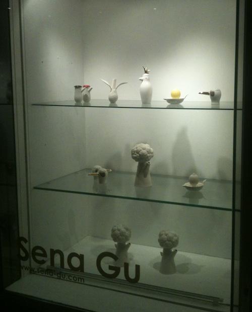 Sena Gu at Canary Wharf