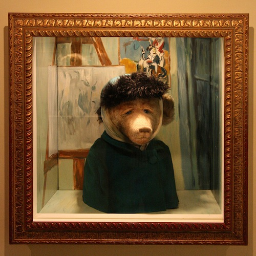 Van Gogh bear, photographed by Paul Matthews