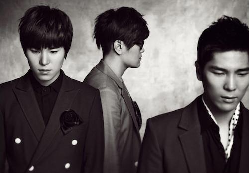 The three members of 4Men