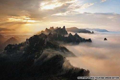 Gongryong Ridge, Seorak Mountain, Gangwon-do. Number 8 on the list