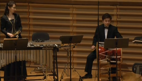 Changgu and kkwaenggwari in the percussion section