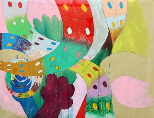 HaYoung Kim, Ribbon Man, Painting, 2011 © HaYoung Kim