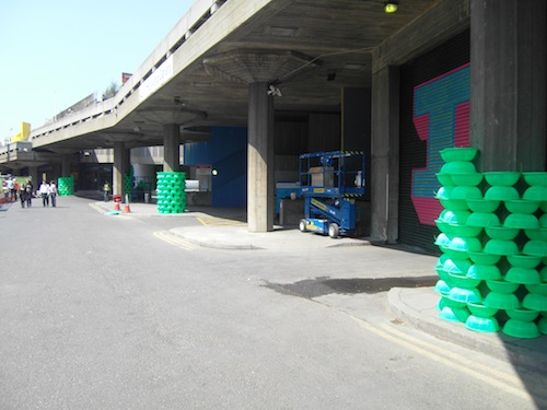 Work in Progress - Choi Jeong-hwa's part-finished project under the Hayward Gallery