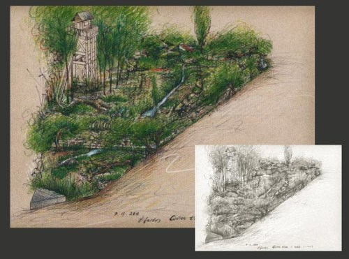Hwang Jihae's design for her DMZ garden