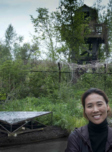 Hwang Jihae and her DMZ Forbidden Garden