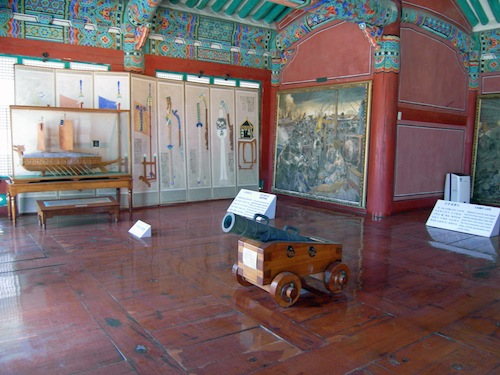 Inside the Jeseungdang Hall