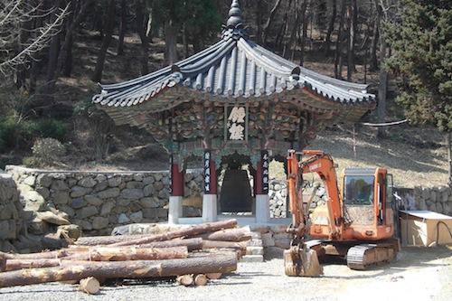 More work in progress at Yonghwasa