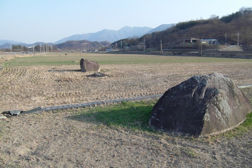 Some of the bronze age dolmen in Teuk-ri, Geumseo-myeon, Sancheong-gun