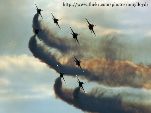 Black Eagles at the Royal International Air Tattoo