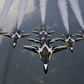 Thumbnail image for Black Eagles showcase the T-50 for Korea Aerospace Industries at the Savoy