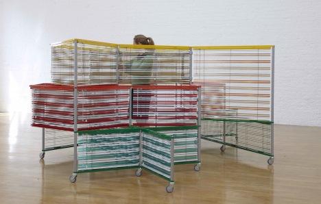 Haegue Yang: Dress Vehicle – Bulky Lacoste Birdy (2011)
