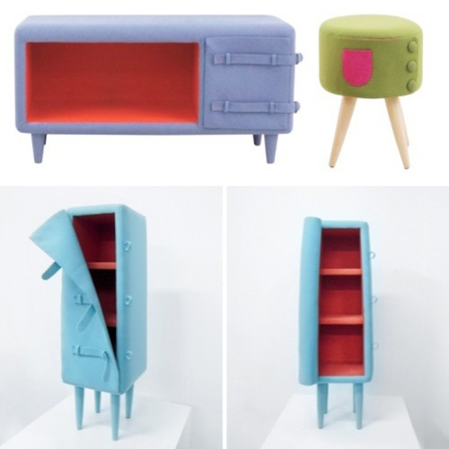 Jaekyoung Kim: Dressed-Up furniture