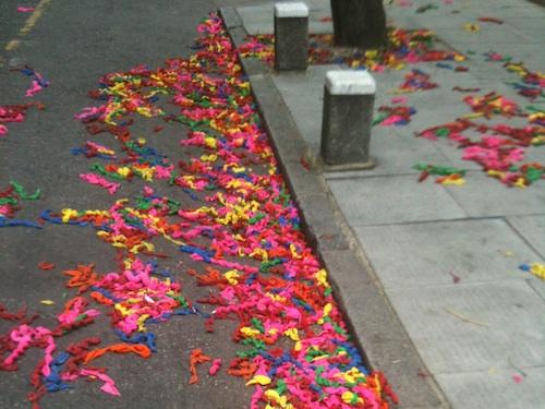 Life-life burst balloons
