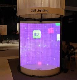 One of Cell Lighting's versatile panels