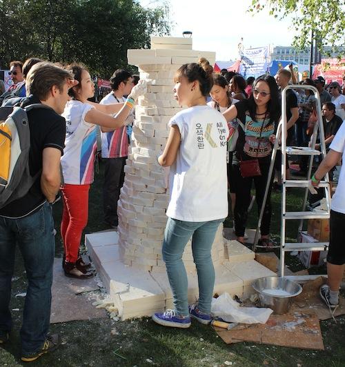 Thames Festival Soapy Cheomseongdae