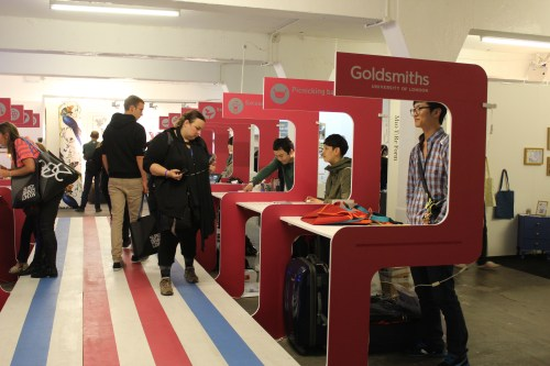 Korean design students from Goldsmiths College exhibit at Tent London