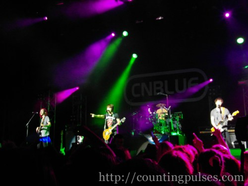 CNBlue at the indigO2