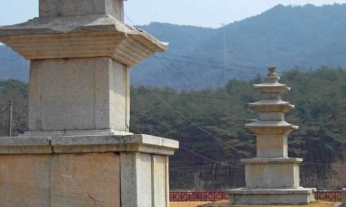 Silla pagodas in Sancheong