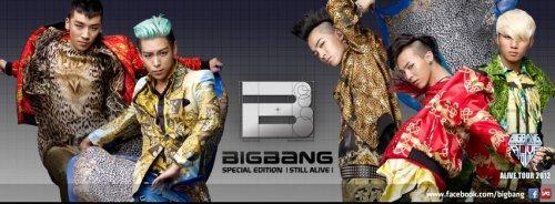 Big Bang tour poster