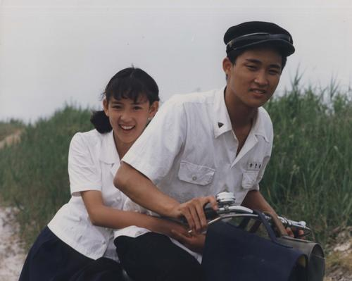 Hwa-young and Dong-jin in their time of innocence in their home village of Gilsoddeum