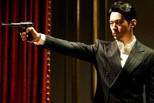 Joo Ji-mo as Ilyich, sporting the latest 1896 fashion - pinstripe