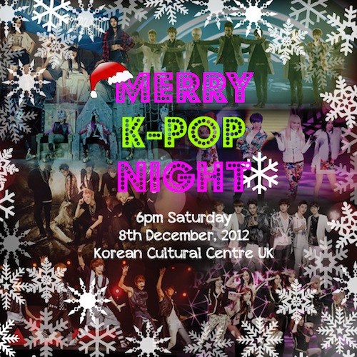 KCC K-pop night poster