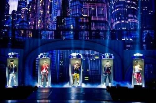 Opening of BIGBANG Galaxy show