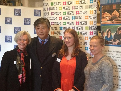 Team photo at the Asia House press conference