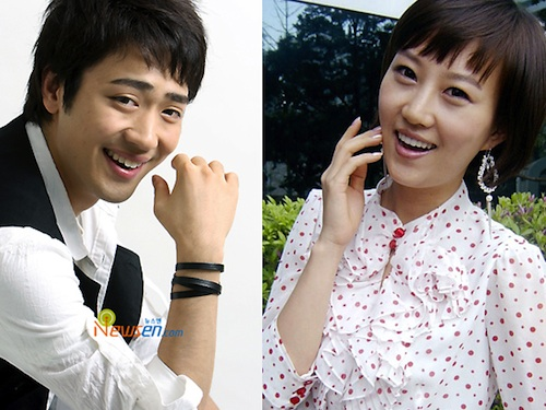 Park Hyun-bin and Jang Yoon-jeong