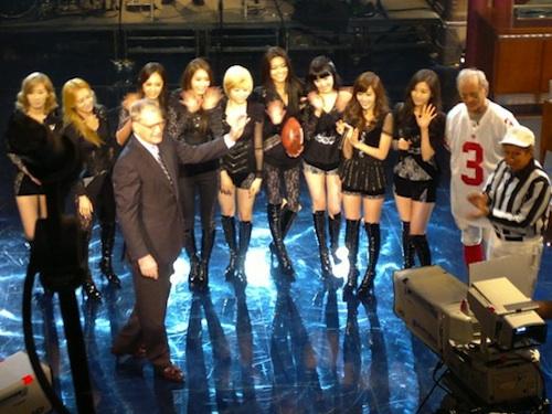 Girls Generation with David Letterman