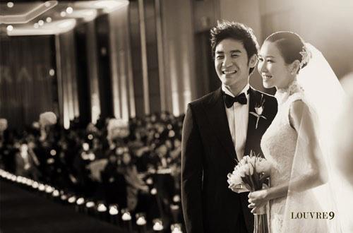 Uhm Tae-woong and Yoon Hye-jin