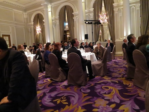 The dining room at the Corinthia