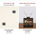 Thumbnail image for Lee Ufan and Paik Nam June in Christies sale