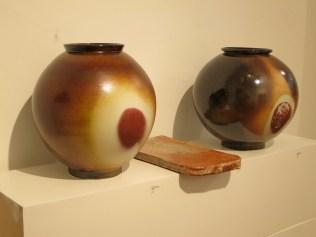 Moon jars by Lee Chang-sook