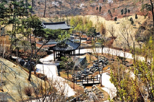 The Korean garden at Suncheon