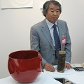 Thumbnail for post: The sticky craft of lacquerware: Korean crafts at Collect 2013